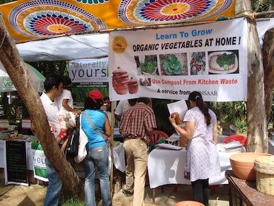 Organic farming clears a path through urban life